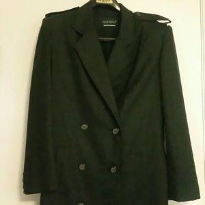 Gray Wool Winter Coat
